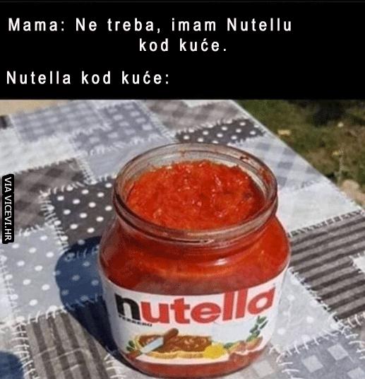 Mama, možemo li kupiti Nutellu?