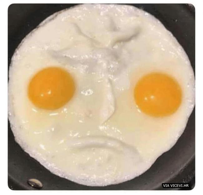 I doručak mi je jutroš nešto tužan!