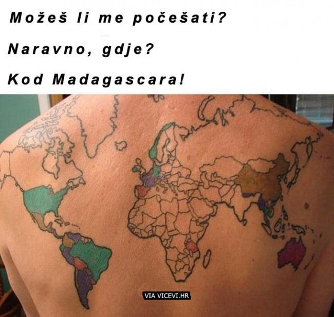 Između Tanzanie i Madagascara!