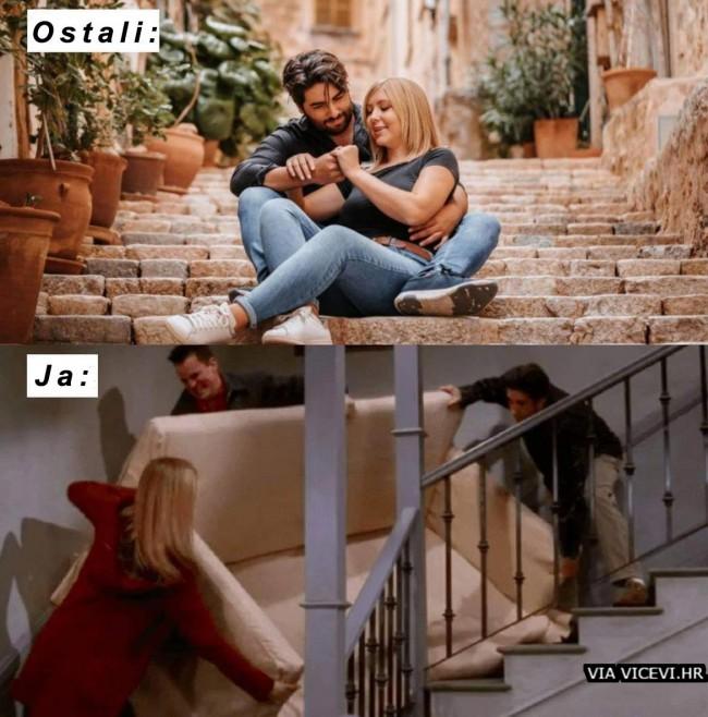Svi mi imamo neke uspomene sa stepenica