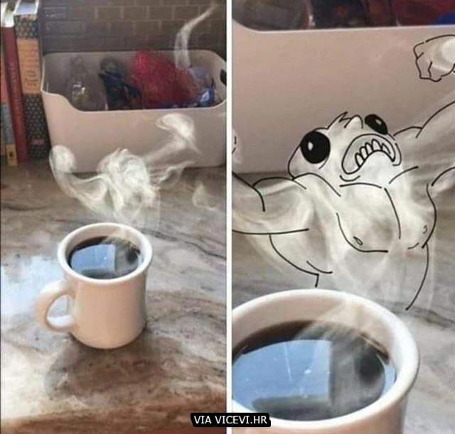 Ujutro pijem samo jaku kavu